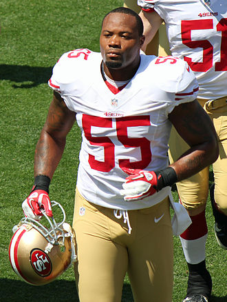 Ahmad Brooks - Brooks with the San Francisco 49ers in 2012