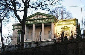 Islam in Norway - Nor mosque at Frogner in Oslo, the mosque of the Ahmadiyya Muslim Community in Oslo.
