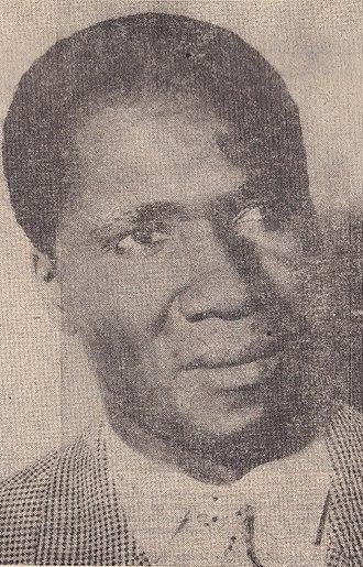 Ahmed Sékou Touré - Sékou Touré in 1958