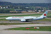 C-GHKX - A333 - Air Canada