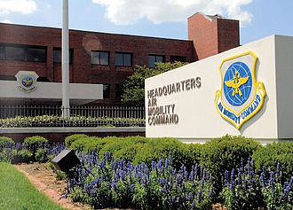 Air Mobility Command - Air Mobility Command Headquarters building, Scott Air Force Base, Illinois