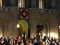 Ajuntament - Arribada de la xambanga de gegants P1160541.JPG