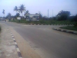 Ikot-Abasi - Image: Akpan Udo Ekpo Road, Ikot Abasi