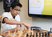 Akshat Chandra, US Junior Championship, July 2015.jpg