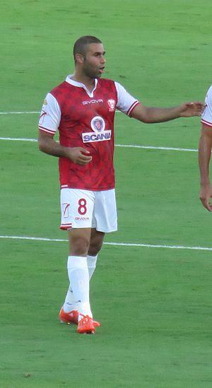 Ala'a Abu Saleh - Abu Saleh playing for Bnei Sakhnin in 2015