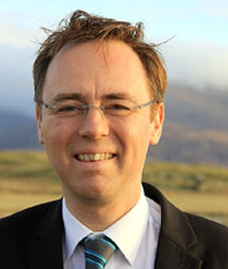 4th Scottish Parliament - Image: Alasdair Allan MSP20120530