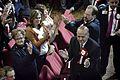 Albert Ísola llega al John Mackintosh Hall para conocer los resultados electorales (23052690880).jpg