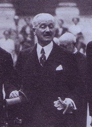 Albert François Lebrun - Lebrun in 1937