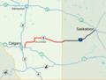 Alberta Highway 9 Map.png