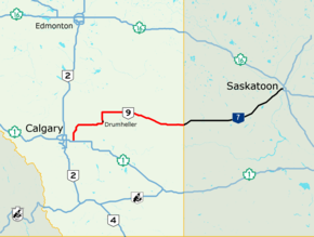Alberta Highway 9 - Wikipedia