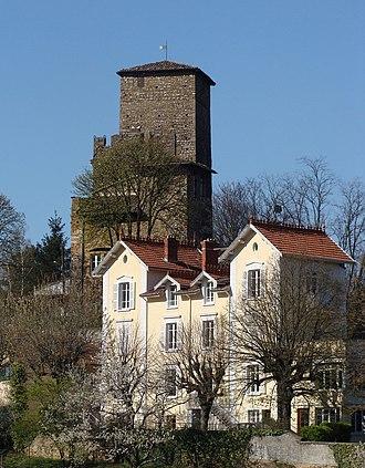 Albigny-sur-Saône - The old castle