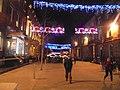 Albion Street by night, Leeds (13th December 2018) 001.jpg