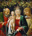 Albrecht Altdorfer - Heilige Familie mit dem Hl. Agapitus (KHM Vienna).jpg