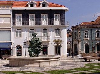 Alcobaça, Portugal - Square in Alcobaça.