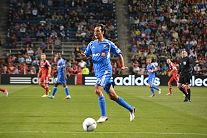 Alessandro Nesta - Nesta on the ball for the Montreal Impact in September 2012