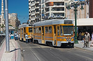 History of trams - Trams in Alexandria, Egypt (since 1860)