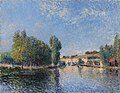 Alfred Sisley The Loing at Moret 1883.jpg