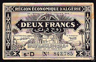 Algerian franc