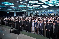 Ali Khamenei Praying for Ayatollah Hashemi Shahroudi010.jpg