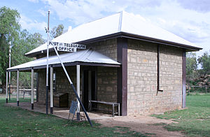 Alice Springs - Telegraph station