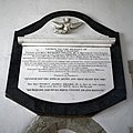 All Saints Church West Stourmouth Kent England ~ Jane Frances Drake and Rev Percy James Drake memorial.jpg