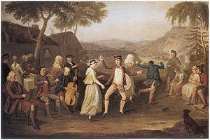 David Allan (painter) - The Highland Wedding, David Allan, 1780