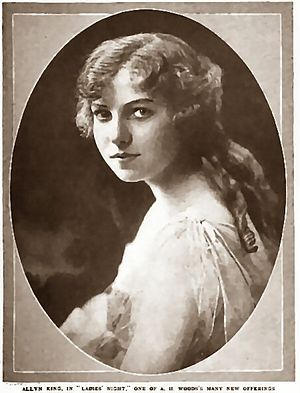 Allyn King - King in Munsey's Magazine 1920/21