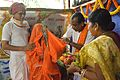 Almsgiving to Brahmachari - Upanayana Ceremony - Simurali 2015-01-30 5675.JPG