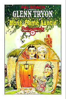 Description de l'image Along came auntie poster.jpg.