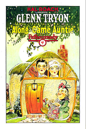 Along Came Auntie - Film poster