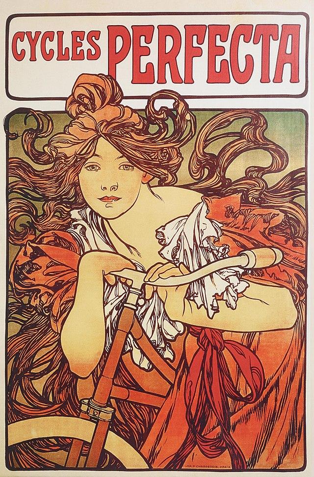 volantino art nouveau: Mucha
