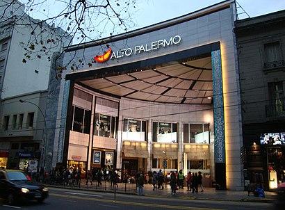Cómo llegar a Alto Palermo Shopping en transporte público - Sobre el lugar