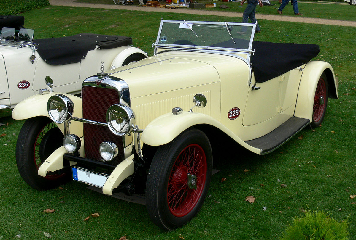 What Is Suspension In Car >> Alvis Firefly - Wikipedia