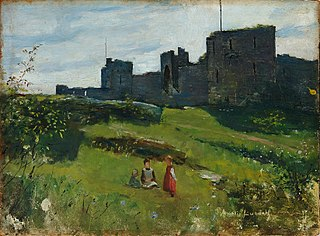 Landscape from Gotland (at city wall in Visby)