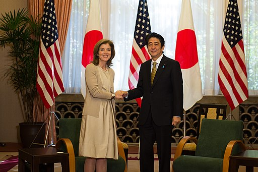 Ambassador Kennedy Meets Japan's Prime Minister Abe (10956898194)