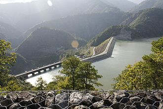 Water supply and sanitation in the Philippines - The Ambuklao Dam and Hydeoelectric Power Plant in Bokod, Benguet, Philippines.