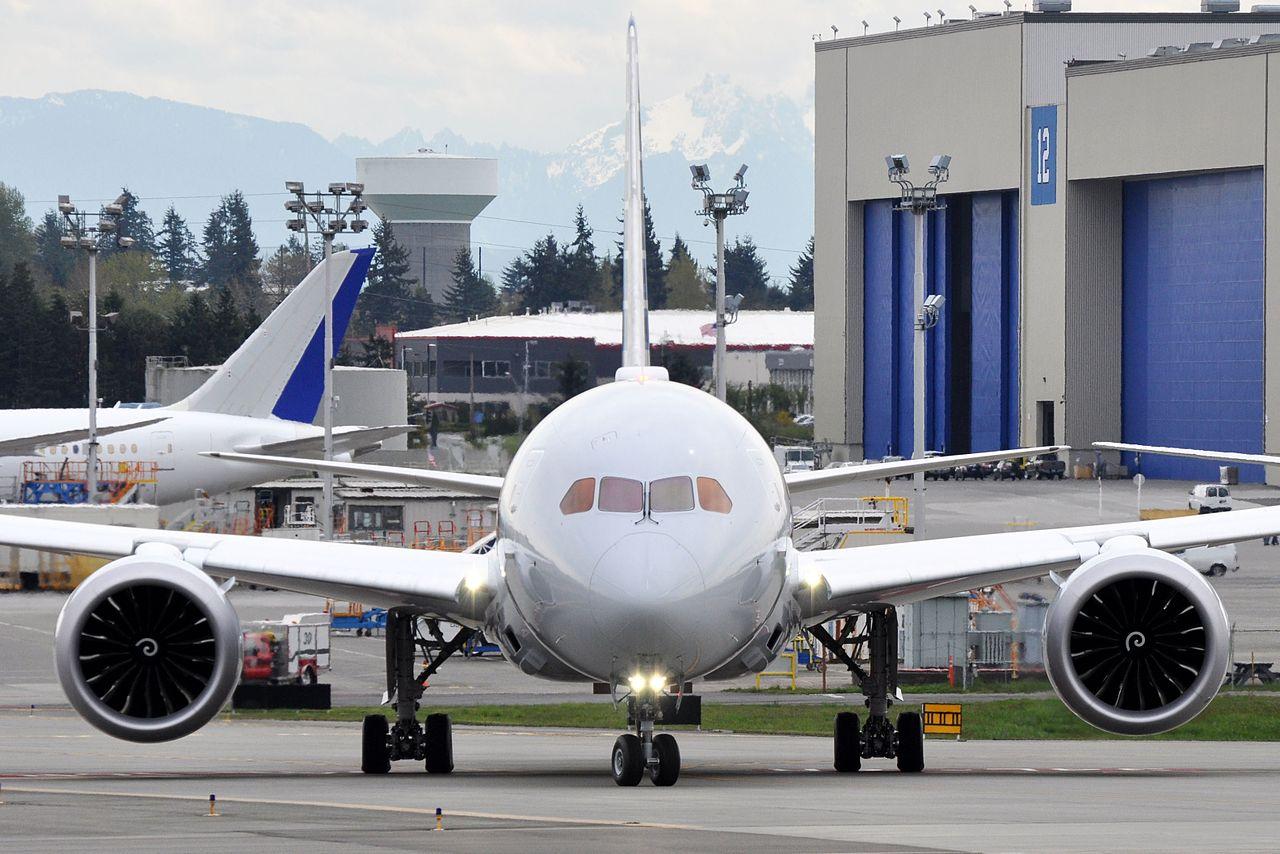 File American Airlines Boeing 787 8 Dreamliner N805an