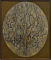 Amsterdam - Stedelijk Museum - Piet Mondrian (1872-1944) - Tableau No. 3, Composition in Oval (A6043) 1913.jpg