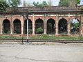 An abandoned train compartment in Nazimabad Railway station, Uttarakhand, India WTK20150912-IMG 0413.jpg