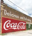 An old, painted Coca-Cola sign on the side of a building in the town of Grand Saline in Van Zandt County, Texas LCCN2014633261.tif
