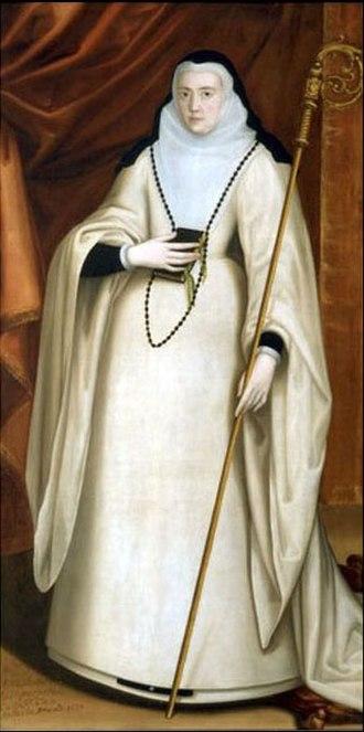 Gabriel de Espinosa - María Ana de Austria.