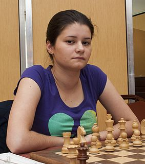Anastasia Bodnaruk Russian chess player