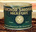 Anchor Smoking Mixture tin, Theodorus Niemeijer Ltd Groningnen.JPG