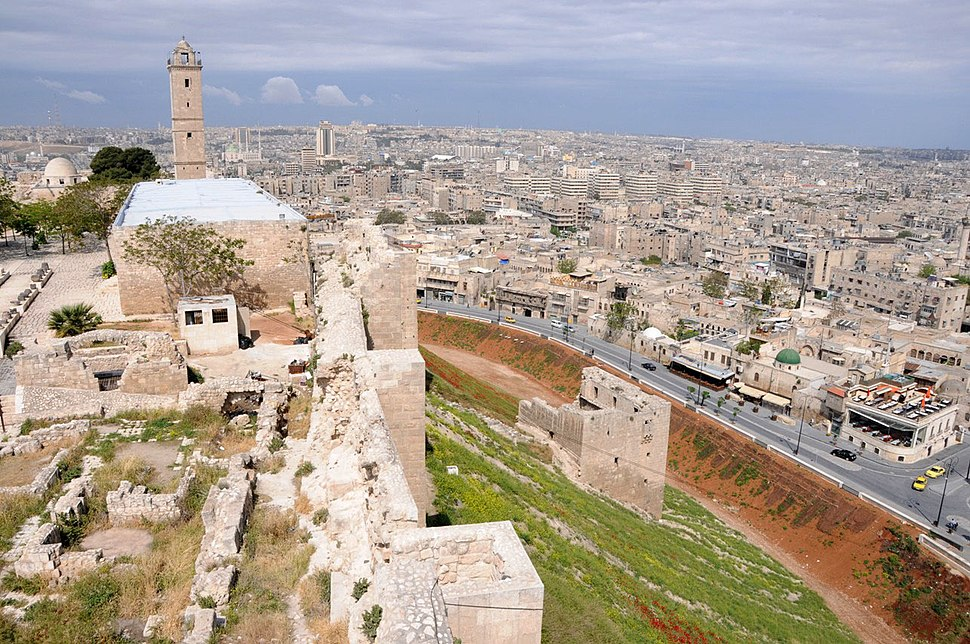 Ancient Aleppo from Citadel