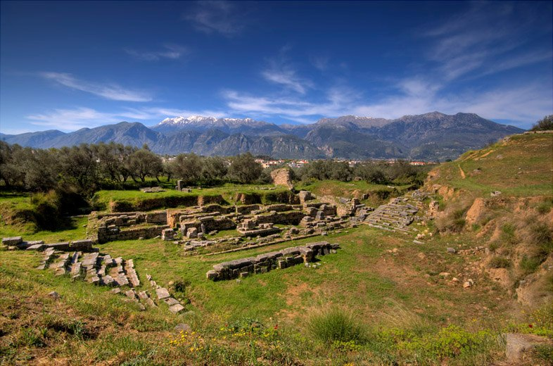 Ancient sparta theater