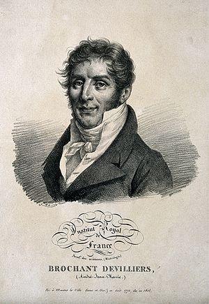 André-Jean-François-Marie Brochant de Villiers - André Brochant de Villiers