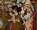 Andrea Piccolomini, Agnese Farnese e Montanina nell'affresco del Pinturicchio.jpg