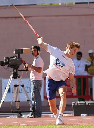 Andreas Thorkildsen - Throwing at the European Cup