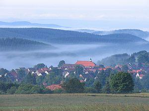 Sankt Andreasberg - Sankt Andreasberg in the mist