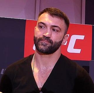 Andrei Arlovski Belarusian mixed martial arts fighter